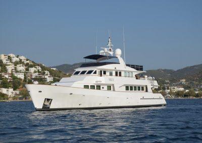 EAGLE TU 30 m steel hull motor yacht