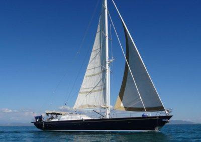 29 m Aluminum Sailing yacht
