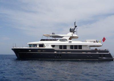 Luxury Trawler motor yacht