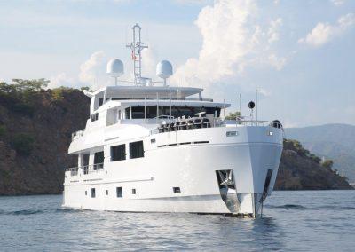 SERENITAS steel hull motor yacht