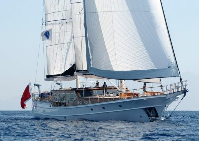 CLEAR EYES 43 m steel hull motor sailor