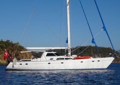 19 m sail yacht