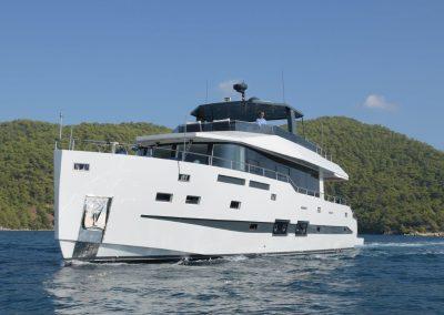 IGUAZU 24 m motor yacht