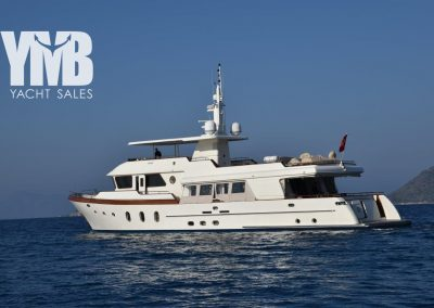30 m steel hull trawler yacht
