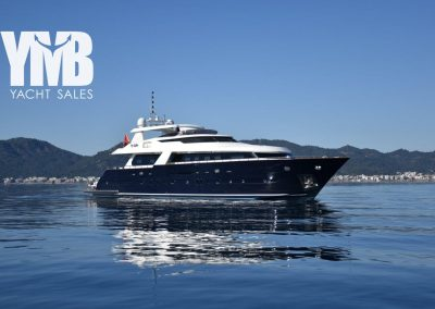 34 m motor yacht for great price