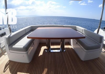 Aft deck cockpit