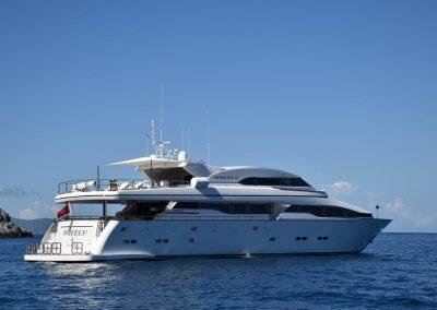 WHEELS I – HORIZON 36 m Motor Yacht