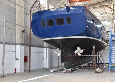 NEW 22 m Motor – Sailer Steel hull Ocean Class