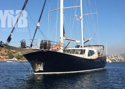 22 m MotorSailer Steel Hull CE class A Ocean