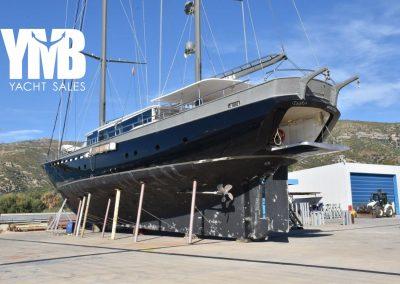 TIGRA 36 m steel hull Motorsailer